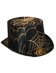 Hatt med spindelnät Halloween vuxen