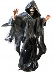 Mantel vit och svart Halloween vuxen
