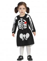 Bebis skelettdräkt