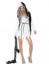 Spökdräkt för vuxna till Halloween