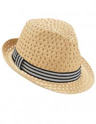 Borslino hatt med band vuxen