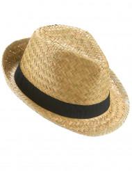 Semester - Borsalino hatt med svart band till festen