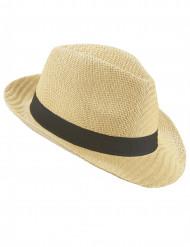 Turist - Borsalino hatt med svart band för vuxna