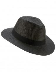 Grå Panama hatt
