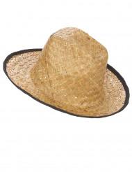 Cowboyhatt med svarta kanter