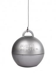 Silverfärgad tyngd för heliumballong