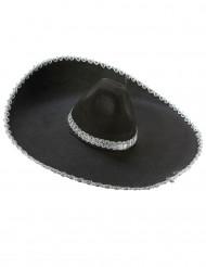 Sombrero med silverdetaljer