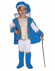 Blå Charm prinsdräkt