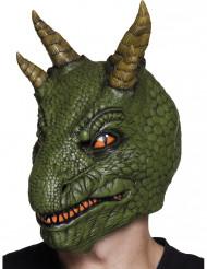 Latexmask dinosaurie vuxen