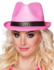 Borsalino hatt rosa