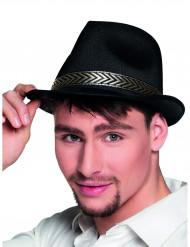 Borsalino hatt svart