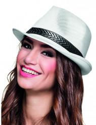 Borsalino hatt vit