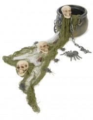 Kittel med skallar - Dekorationskit till Halloweenfesten