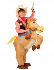 Uppblåsbar häst