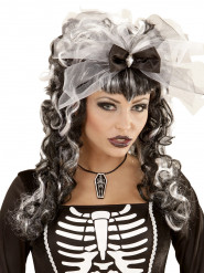Halsband med kista som medaljong - Halloween tillbehör