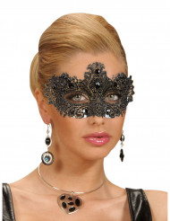 Antik ögonmask med ädelstenar för vuxna