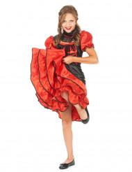 Svart och röd cabaretdräkt för barn