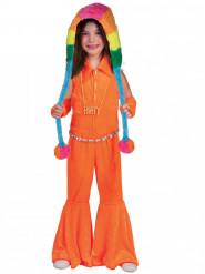 Orange neon dräkt barn