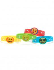 Emoji™-armband i gummi