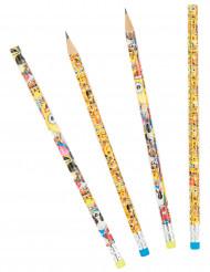 8 Blyertspennor från Emoji™