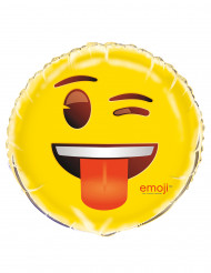 Emoji™ flörta - aluminiumballongtill kalaset
