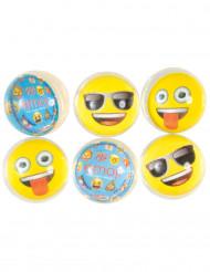 6 studsbollar Emoji™