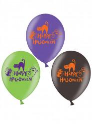 6 ballonger Happy Halloween
