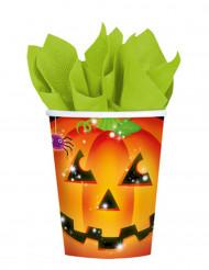 8 Pumpamuggar till Halloweenfesten