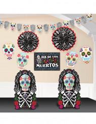 Dia de los Muertos-dekorationskit till Halloween