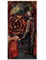 Creepy Carneval - Dörrdekoration till Halloween 85 x 165 cm