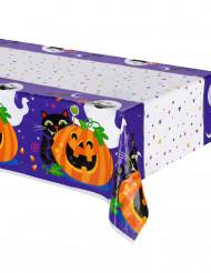 Plastduk med Halloweenfilurer - Halloweendukning