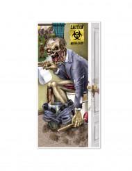 Toanödig zombie - Dörrdekoration till Halloween