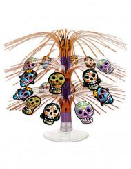 Bordsdekoration i Dia de los Muertos-stil till Halloween