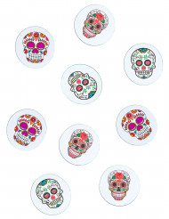 Bordskonfetti i Dia de los muertos-stil - Halloweenpynt