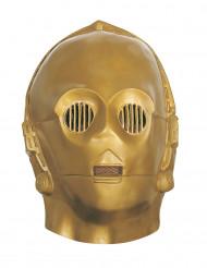 C3PO - Mjuk mask från Star Wars™ för vuxna