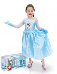 Komplett maskeradkit - Elsa™ från Frost™ dräkt för barn