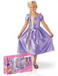 Klassisk kostym Fairy Tale Rapunzel™ med accessoarer i presentförpackning