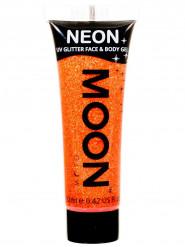 Neonorange UV-paljettgel för ansikte & kropp från Moonglow®