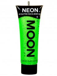 Kropps och ansiktsgel i neongrönt från Moonglow® 12 ml