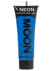 Neonblå UV-paljettgel för ansikte & kropp från Moonglow®