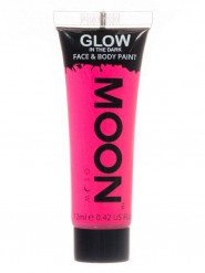 Neonrosa Ansikts- & Kroppsgel från Moonglow©