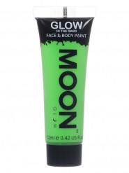 Självlysande Neongrön Ansikts- & Kroppsgel från Moonglow©