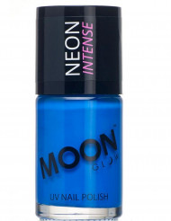 Blått UV-nagellack från Moonglow©