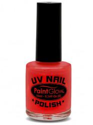 Rött UV-nagellack
