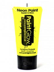 Gul UV-färg för kroppen 50 ml