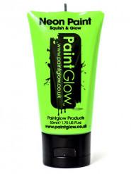 Grön UV-färg för ansikte och kropp 50 ml