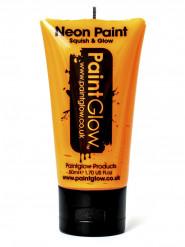 Orange UV-färg för kropp och ansikte 50 ml