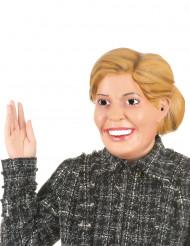 Humoristisk latexmask drottning Maxima för vuxna