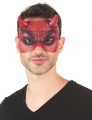 Djävulsmask i latex för vuxna