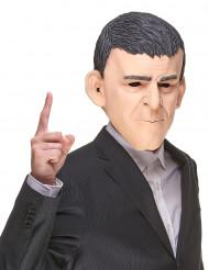 Humoristisk latexmask Manuel Valls för vuxna